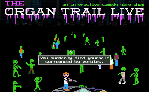 The Organ Trail Live – October 11, 2014 – Lance Nealy